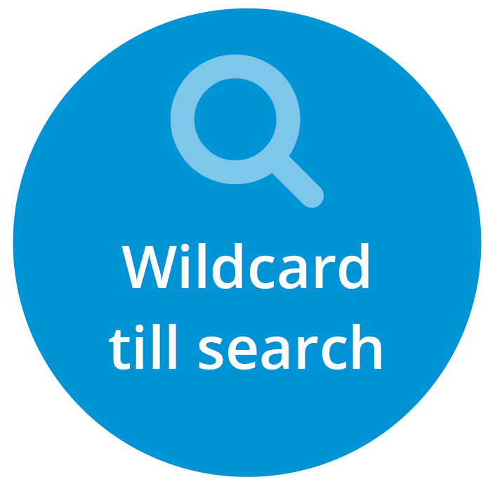 Wildcard search article