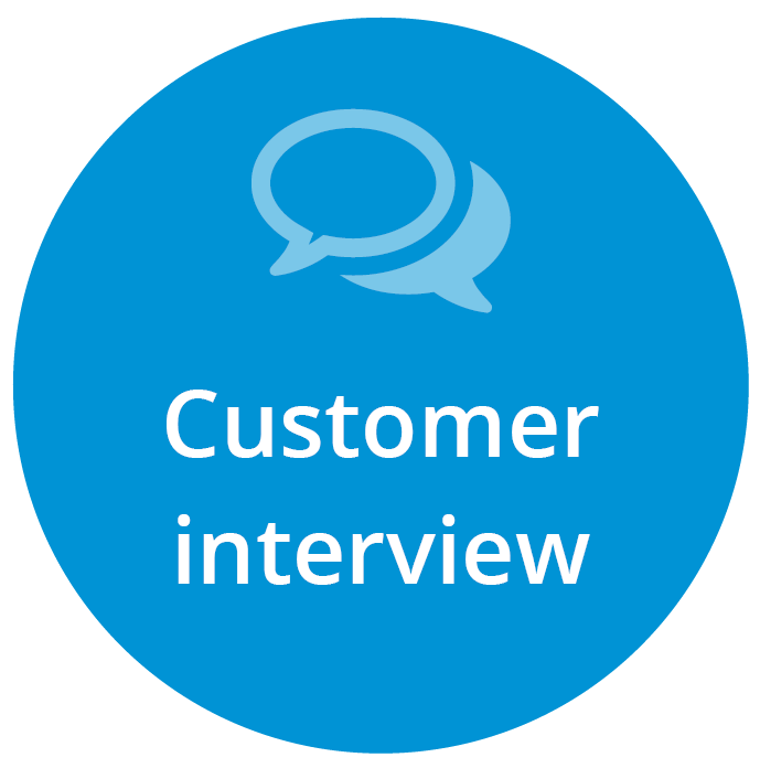 Customer interview article