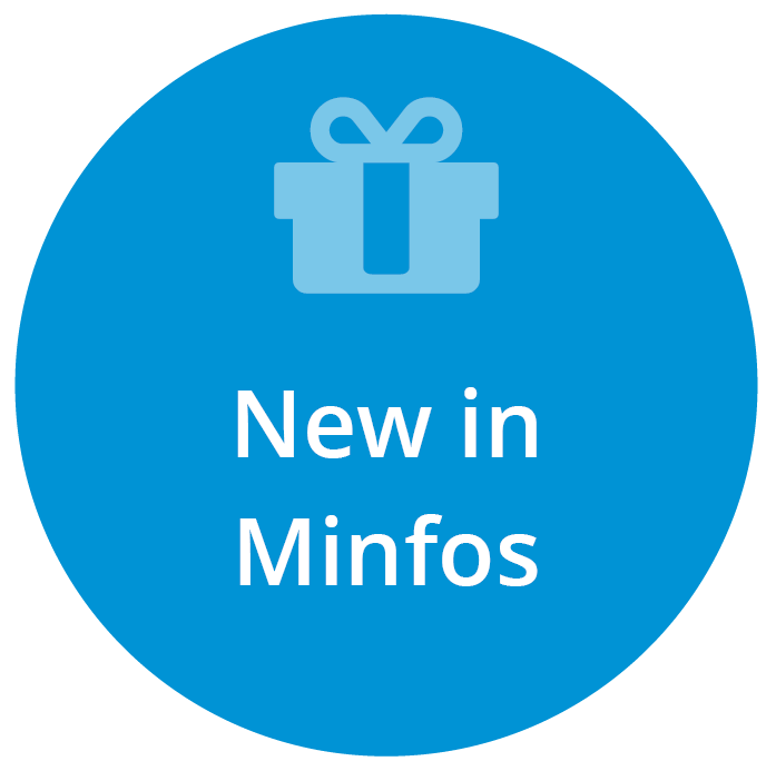 What's new in Minfos